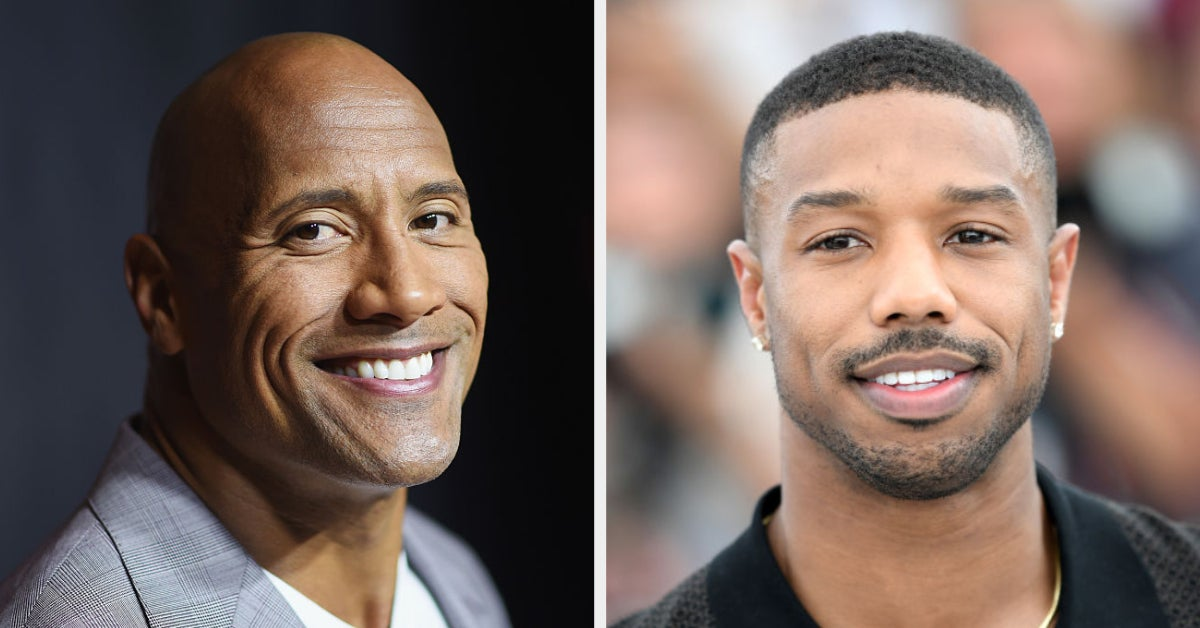 The Rock Joked That He's Not Conceding The Crown Of Sexiest Man Alive To Michael B. Jordan, And I Love Him Even More Now