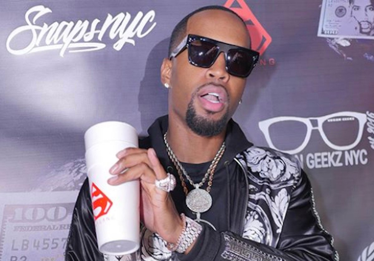 Safaree Is Improvising For His Abs Routine – Check Out What He's Using In These Videos