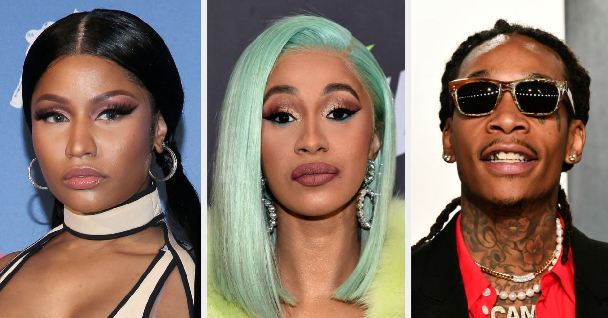 Cardi B Called Out Wiz Khalifa For Pitting Her And Nicki Minaj Against Each Other