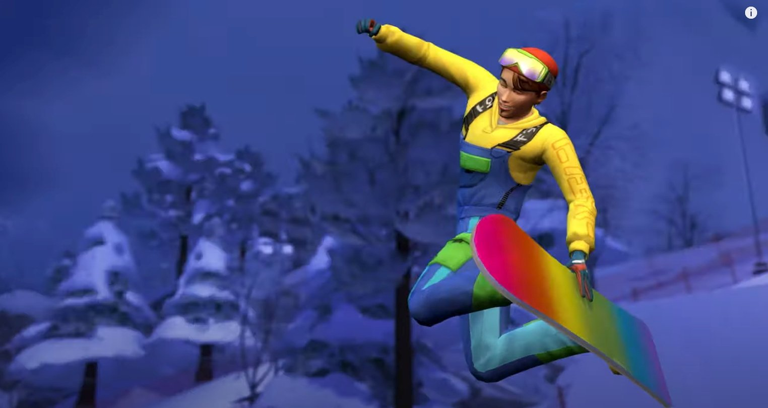 The Sims 4: Snowy Escape Livestream Reveals More Information Ahead Of Its Release