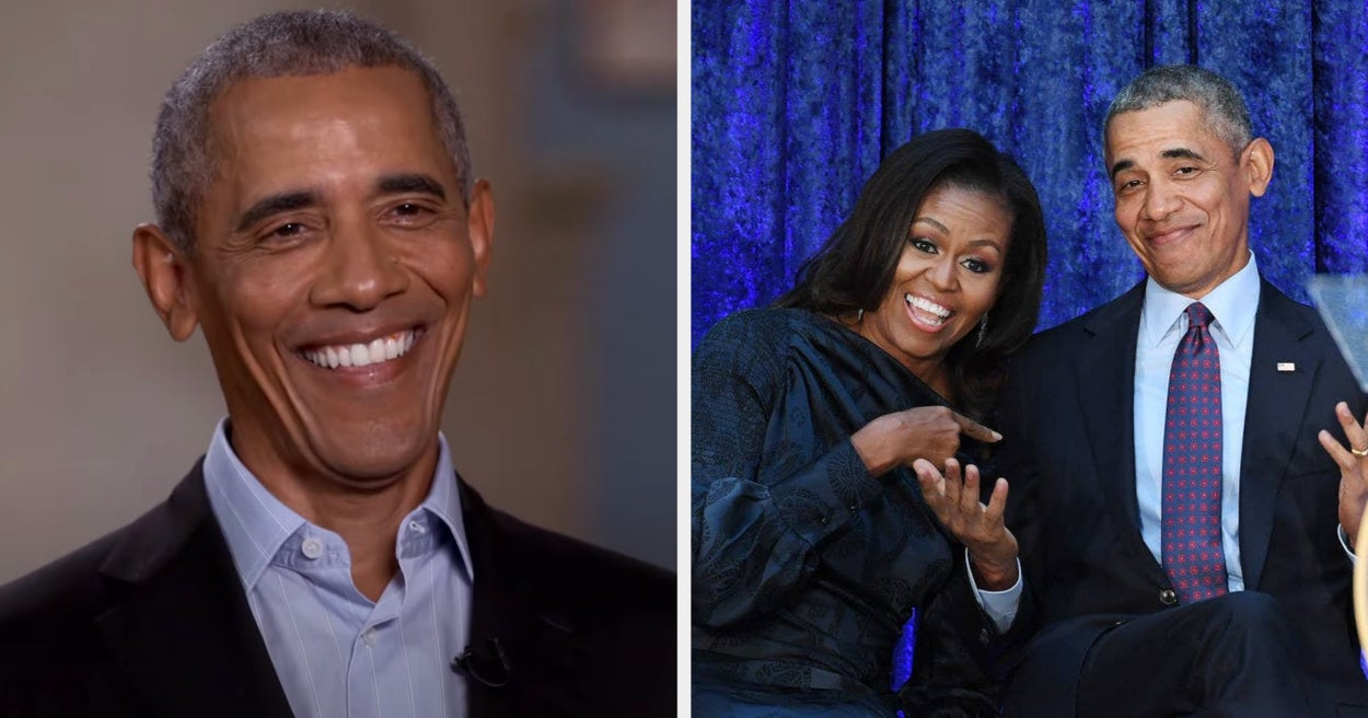 Former President Obama Joked About What Michelle Would Do If He Joined Joe Biden's Cabinet, And I'm Chuckling