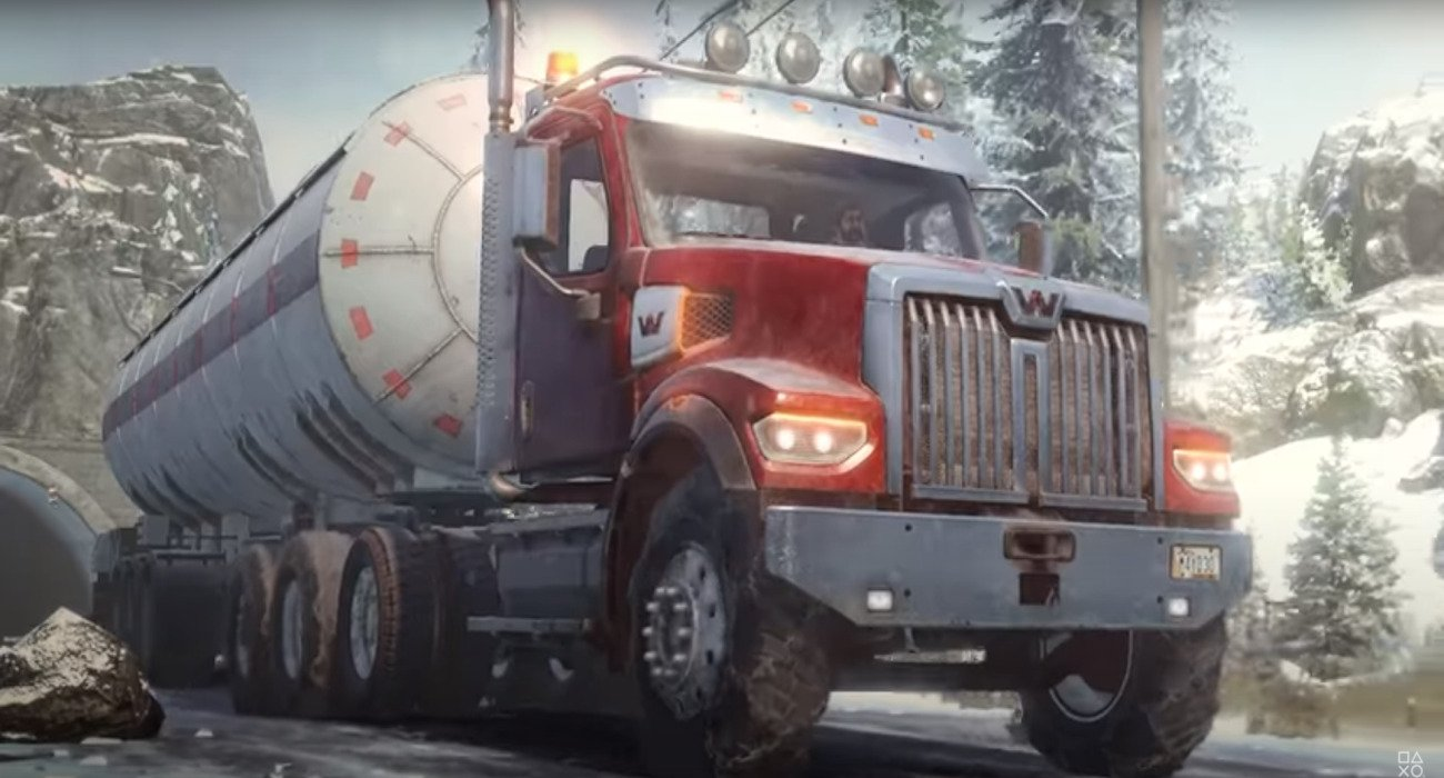 SnowRunner Has A New Vehicle Called The Western Star 49X, Which Is Big And Powerful