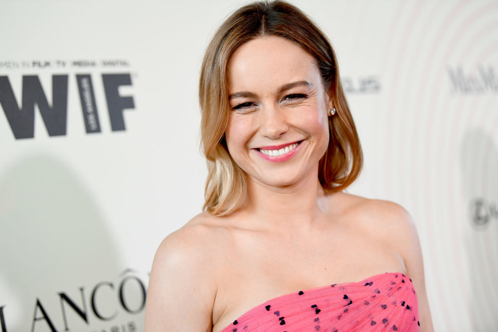 Brie Larson attends the Women In Film 2018 Crystal + Lucy Awards
