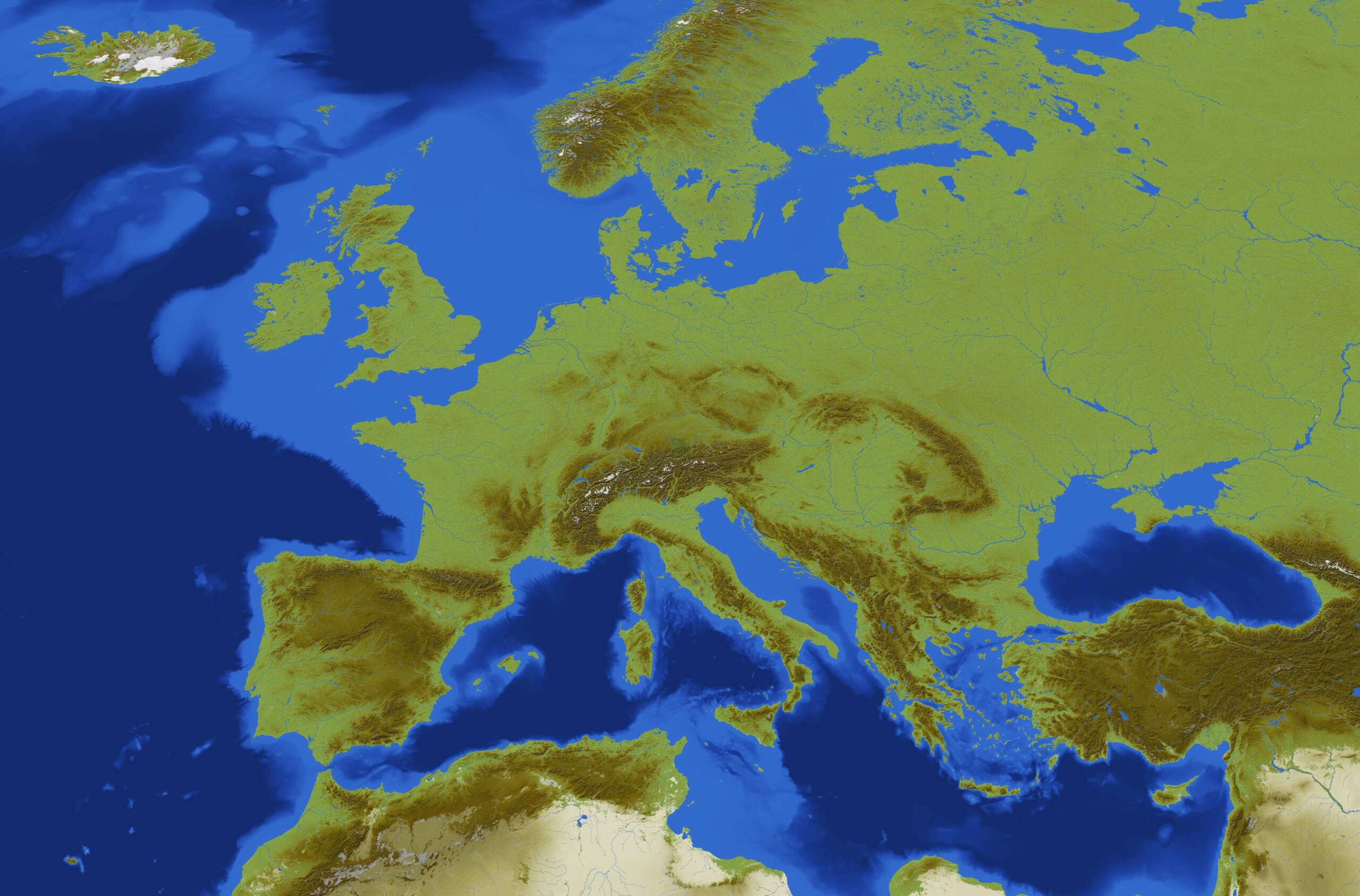 Minecraft Creators Used A Software Called QGIS To Make A Fully Playable Map Of Europe