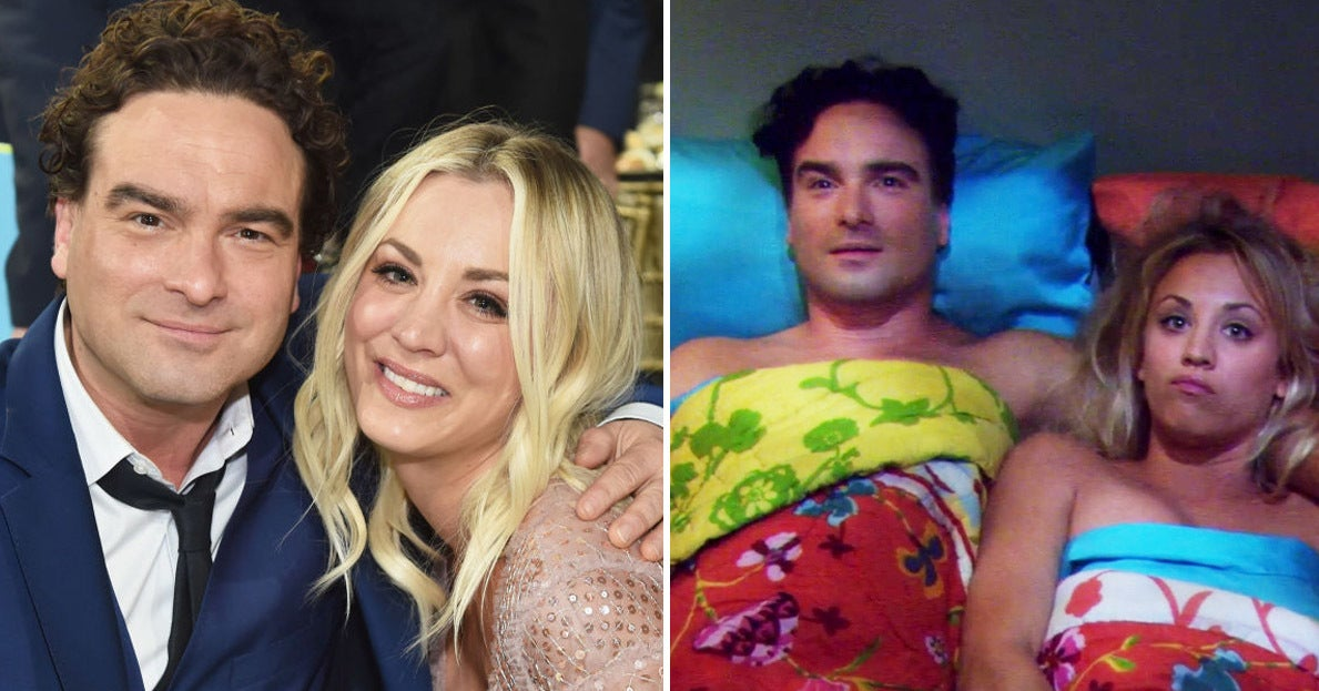 """Kaley Cuoco Talked About Filming """"Big Bang Theory"""" Sex Scenes With Her Ex Johnny Galecki"""