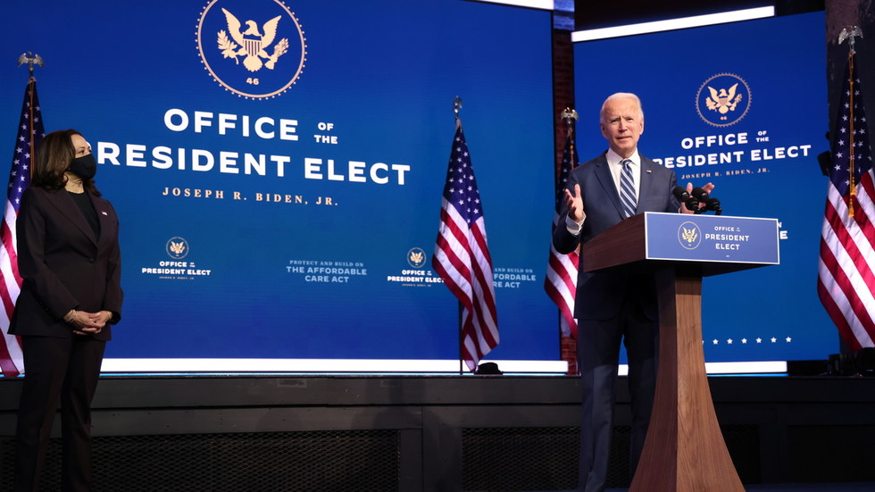 Biden calls Trump's refusal to concede election an 'embarrassment' that 'will not help the president's legacy'