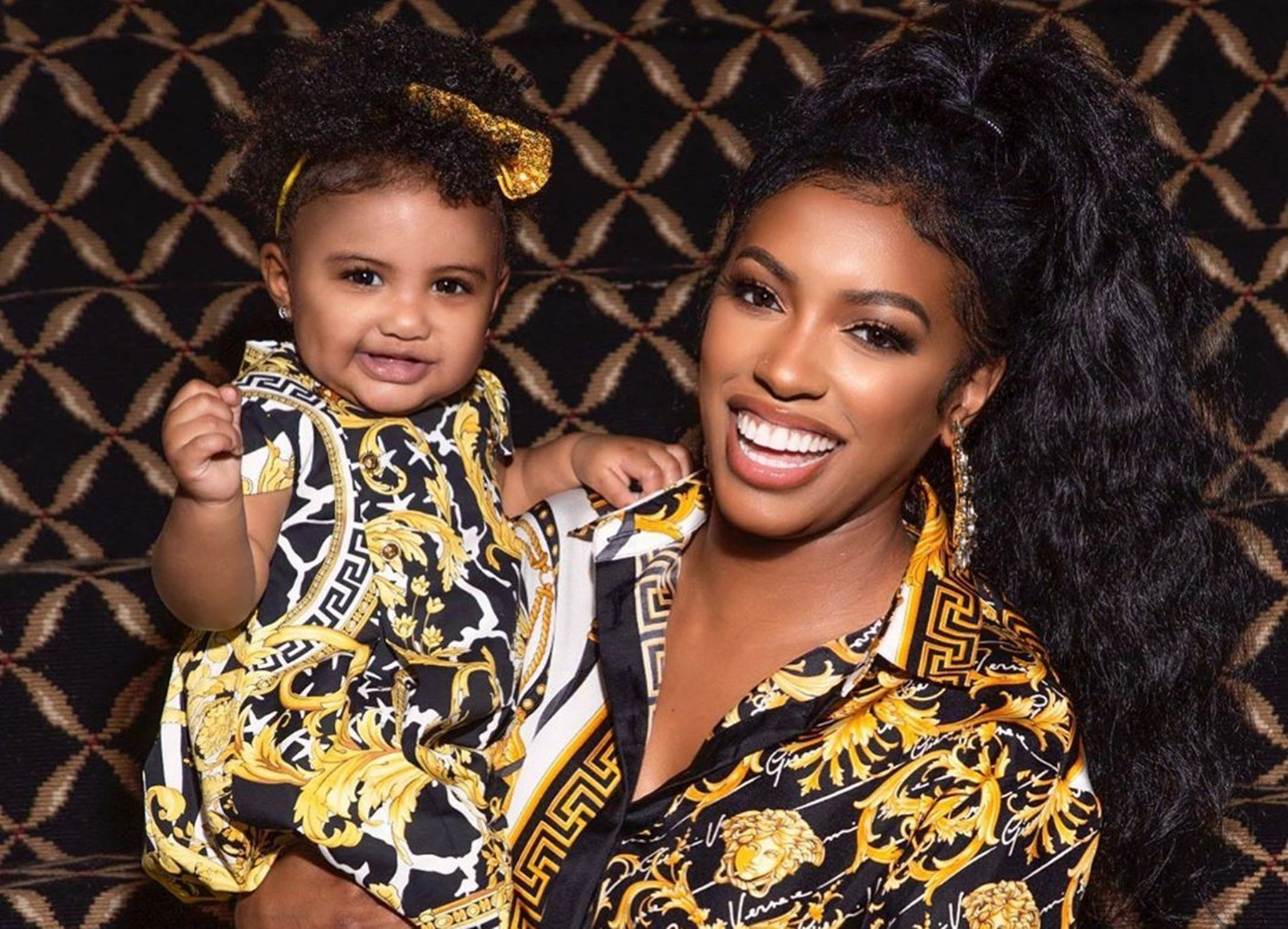 Porsha Williams Will Make Your Day With This Video Featuring Her Baby Girl, Pilar Jhena