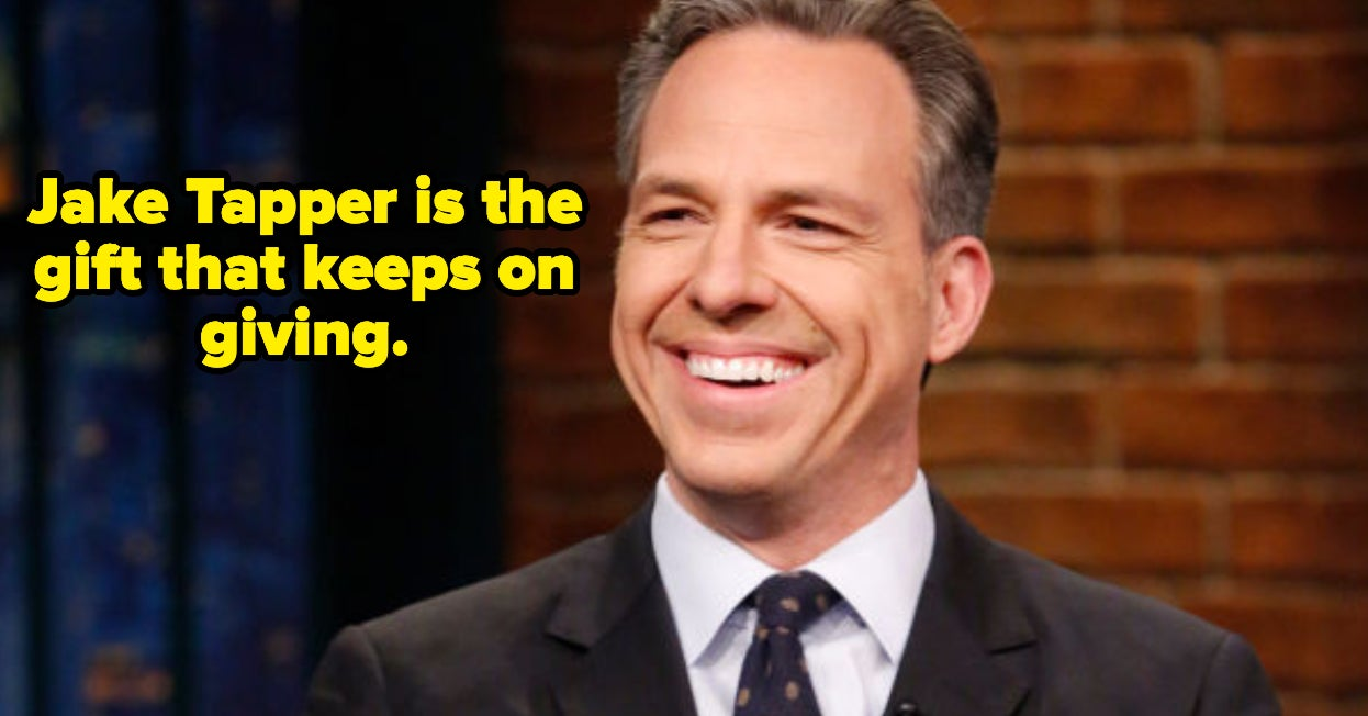 19 Tweets About Jake Tapper Because He's Officially America's Boyfriend
