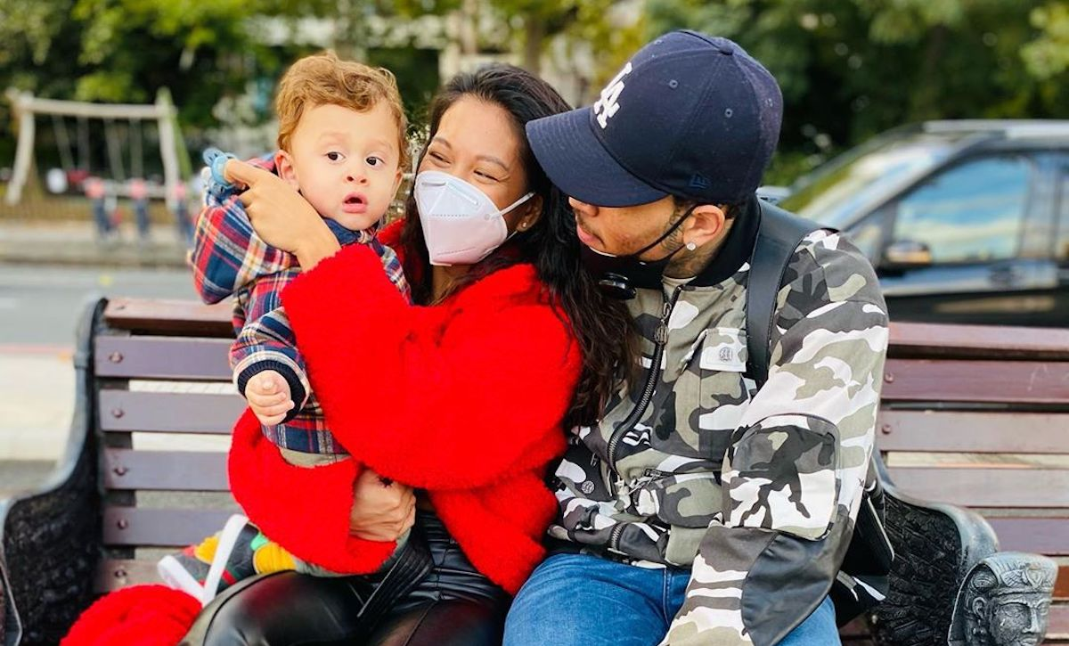 Ammika Harris Is Twinning With Her And Chris Brown's Son For Thanksgiving – See Their Sweet Photos!