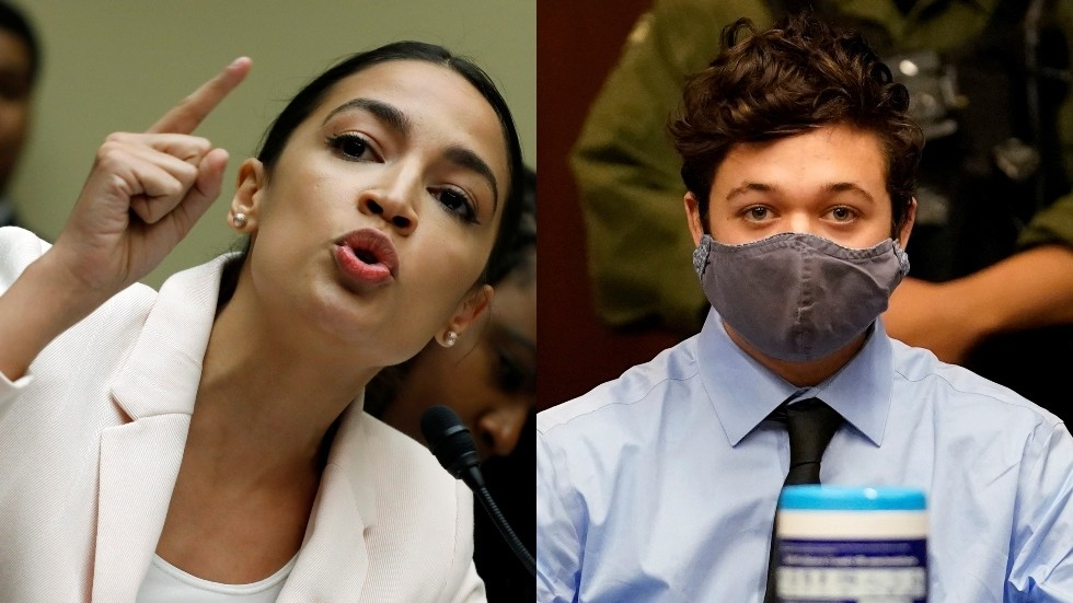 'Protection of white supremacy': AOC leads liberal outrage after Kenosha shooter Rittenhouse released on bail