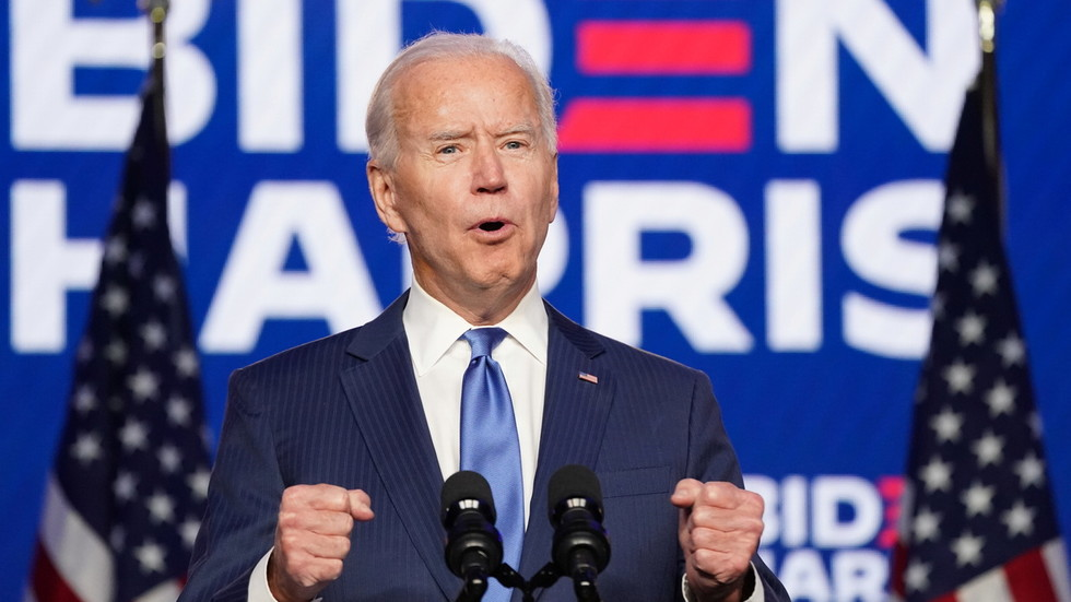 'We've rebuilt the blue wall': Biden says 'numbers tell us clear & convincing story, we're going to win' as Trump vows litigation