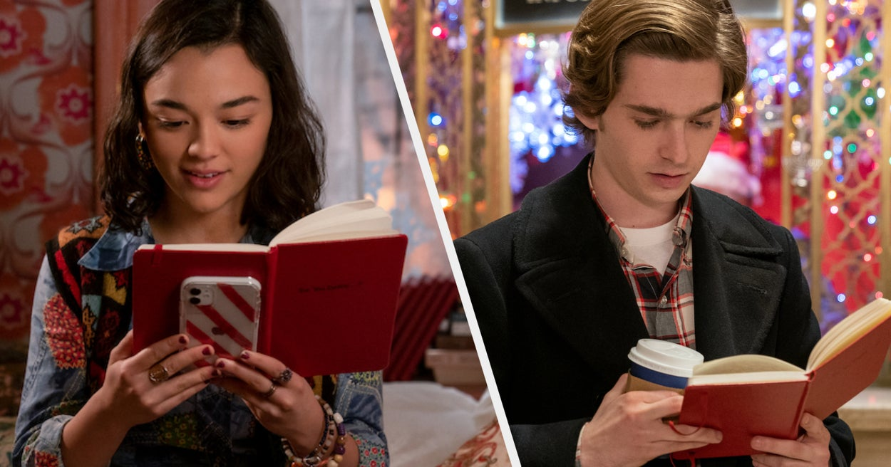 "The Stars Of ""Dash & Lily"" Got To Know Each Other Through A Notebook IRL Too"