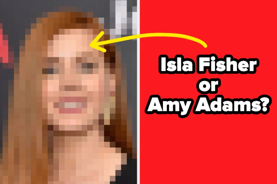 Here Are Eight Famous Lookalikes — Can You Identify Them From These Pixelated Photos?