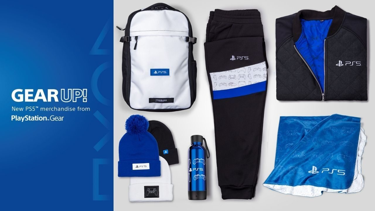 First official PS5 merchandise available at PlayStation Gear Store