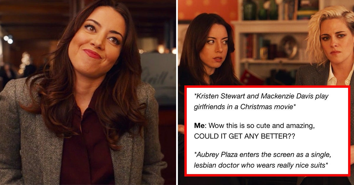 """21 Tweets And Tumblr Posts That Perfectly Sum Up Everyone's Love For Aubrey Plaza As Riley In """"Happiest Season"""""""