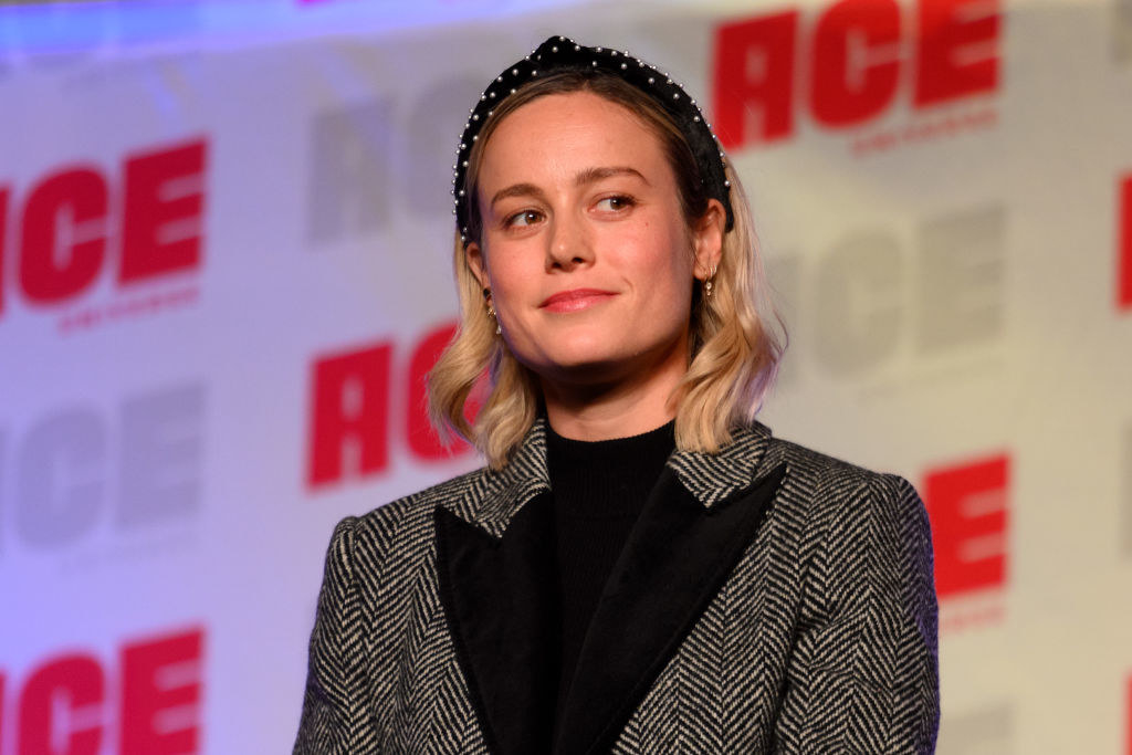 Brie Larson attends ACE Comic Con Midwest