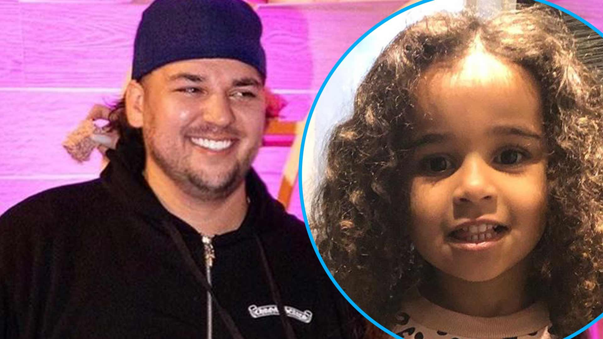 Rob Kardashian Is Celebrating The Birthday Of His And Blac Chyna's Baby Girl, Dream Kardashian