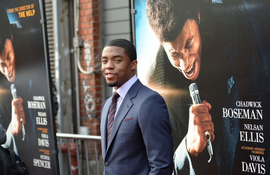 Chadwick A Boseman at arrivals for GET ON UP Premiere, Apollo Theater, New York, NY July 21, 2014.