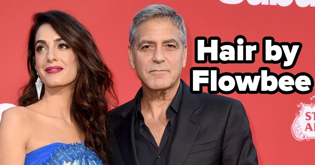 George Clooney Has Apparently Been Cutting His Hair With A Flowbee For 25 Years