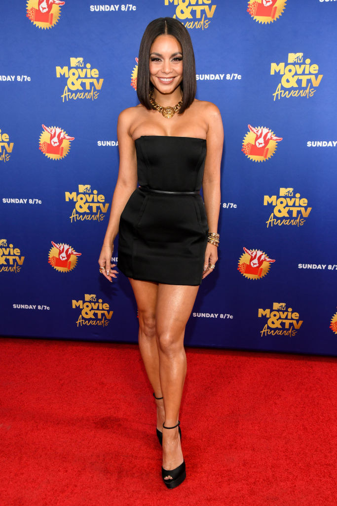 Vanessa Hudgens attends the 2020 MTV Movie & TV Awards