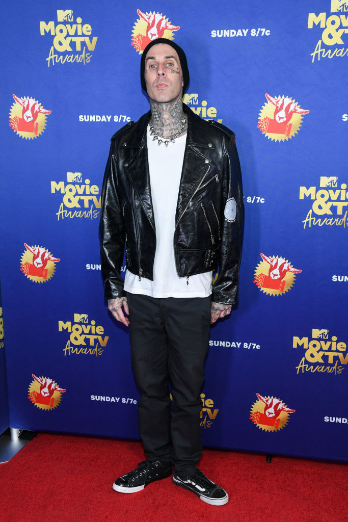 Travis Barker attends the 2020 MTV Movie & TV Awards