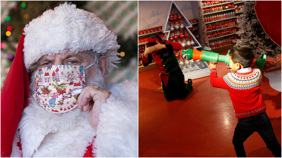 Gun-control mall Santa causes boy to cry after telling him no NERF gun, no firearm toys of any kind for Christmas