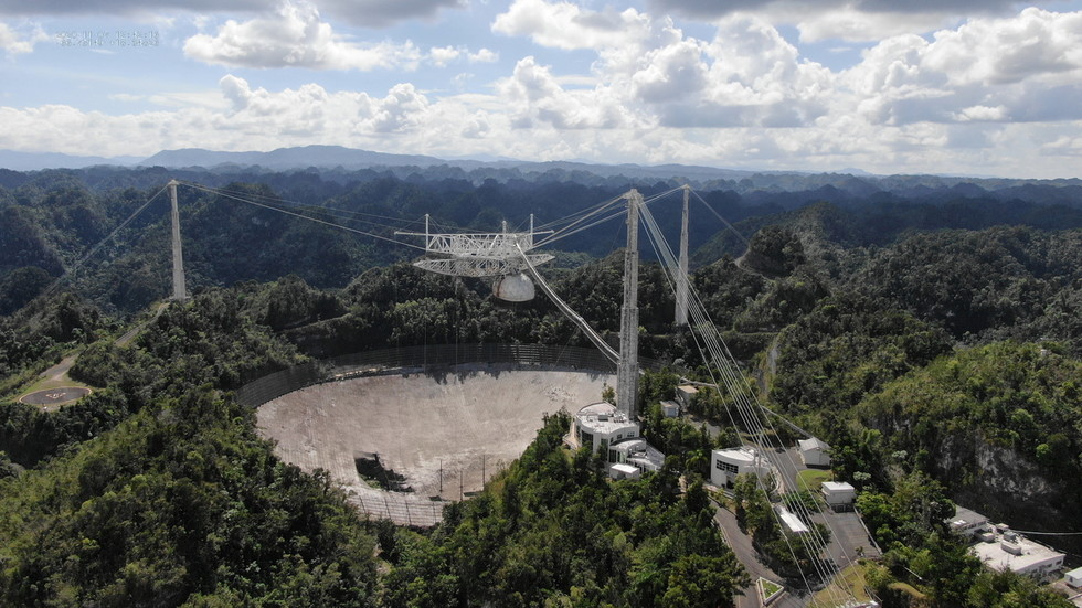 World's most powerful radio telescope COLLAPSES in Puerto Rico, after decades of hunting alien signals from space (PHOTOS)