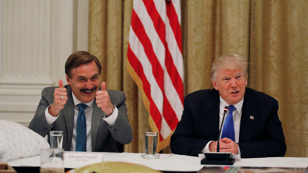 My Pillow guy says Trump will '100% be PRESIDENT' for next four years after speaking with lawyers