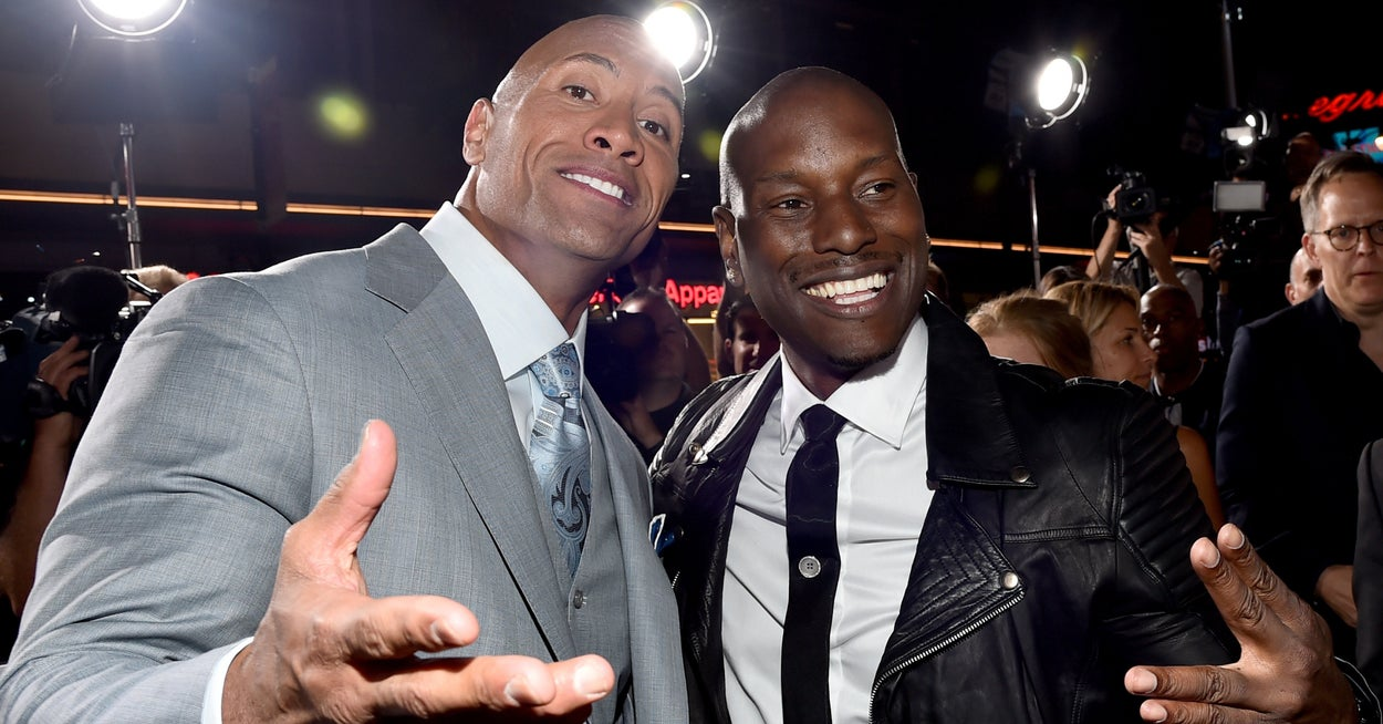 """Tyrese Gibson And Dwayne """"The Rock"""" Johnson Are Friends Again After A """"Fast & Furious"""" Argument"""