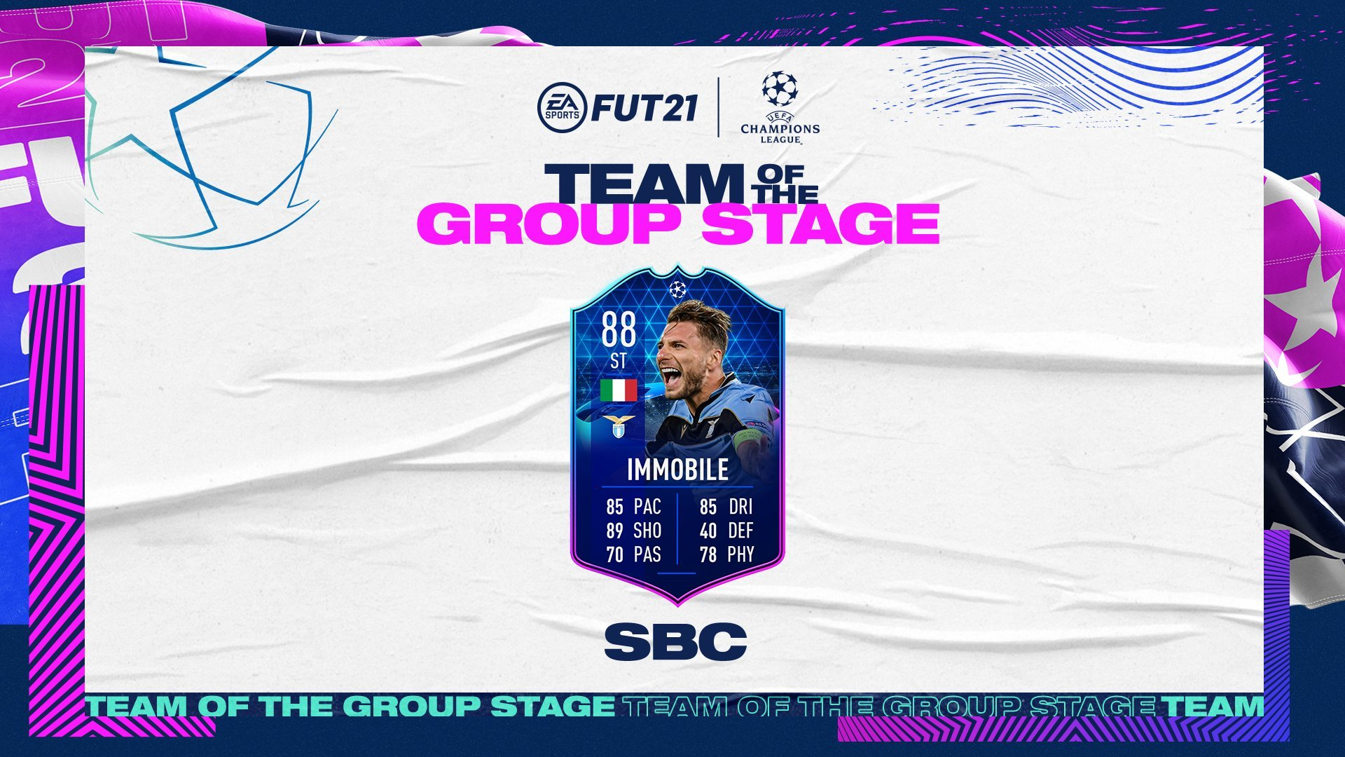 Should You Do The Ciro Immobile TOTGS SBC In FIFA 21? Decent Card, Decent Price, But Nothing Special