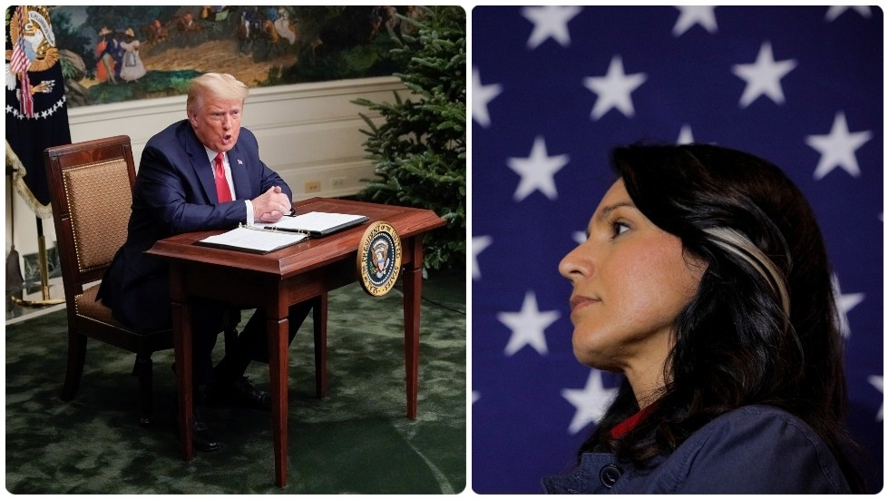 Tulsi Gabbard backs Trump's call to rip up Big Tech-shielding Section 230, Twitter predicts she'll 'get canceled' – again