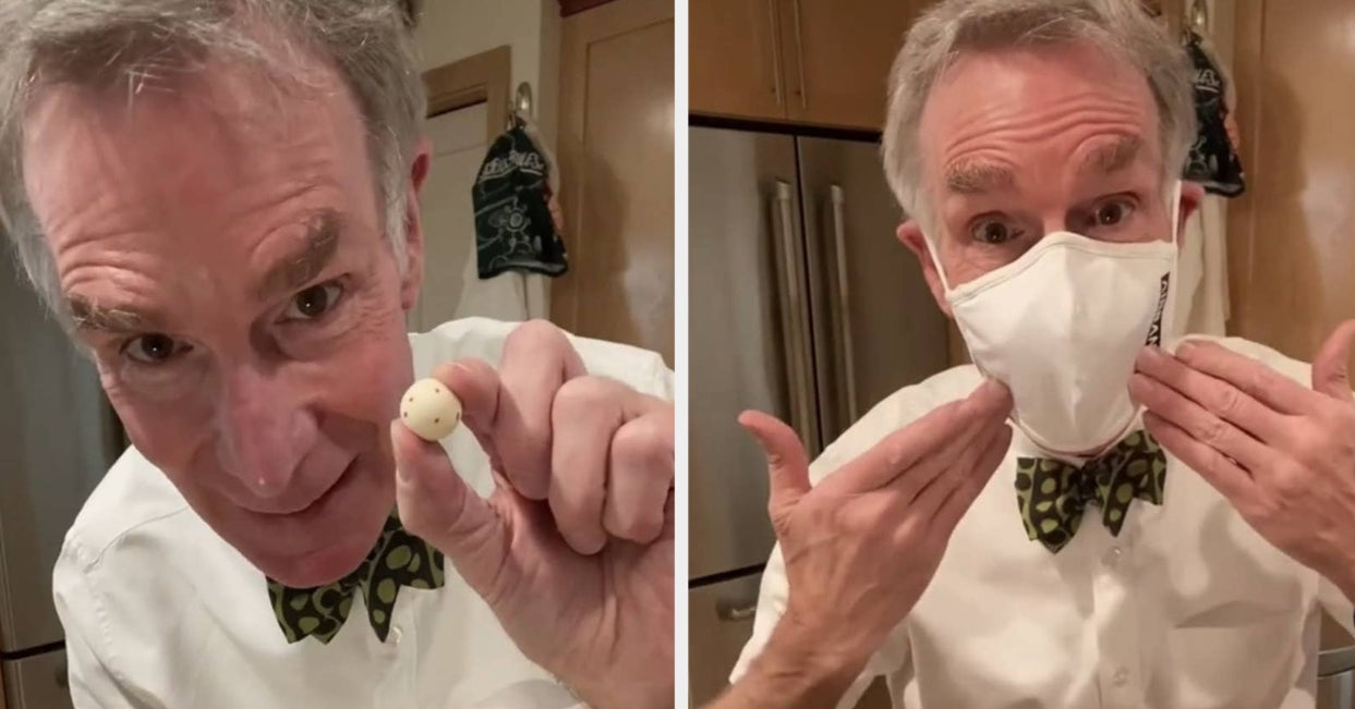 """Bill Nye Went Mega-Viral On TikTok After He Shut Down """"Anti-Maskers"""" For Their Fake Science"""