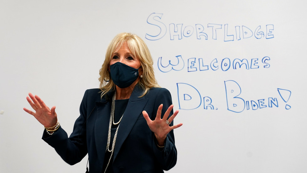 Jill Biden turns hysteria over 'Dr.' title into call to prevent world's 'daughters' from being 'diminished'