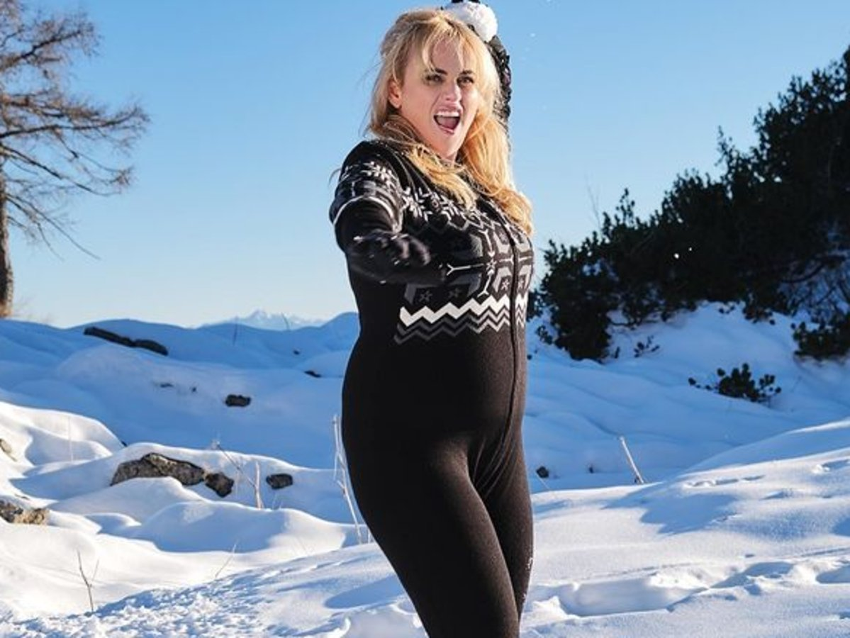 Now That Rebel Wilson Has Reached Her Goal Weight, She's Training With Gunnar Fitness Who Trained The Kardashians