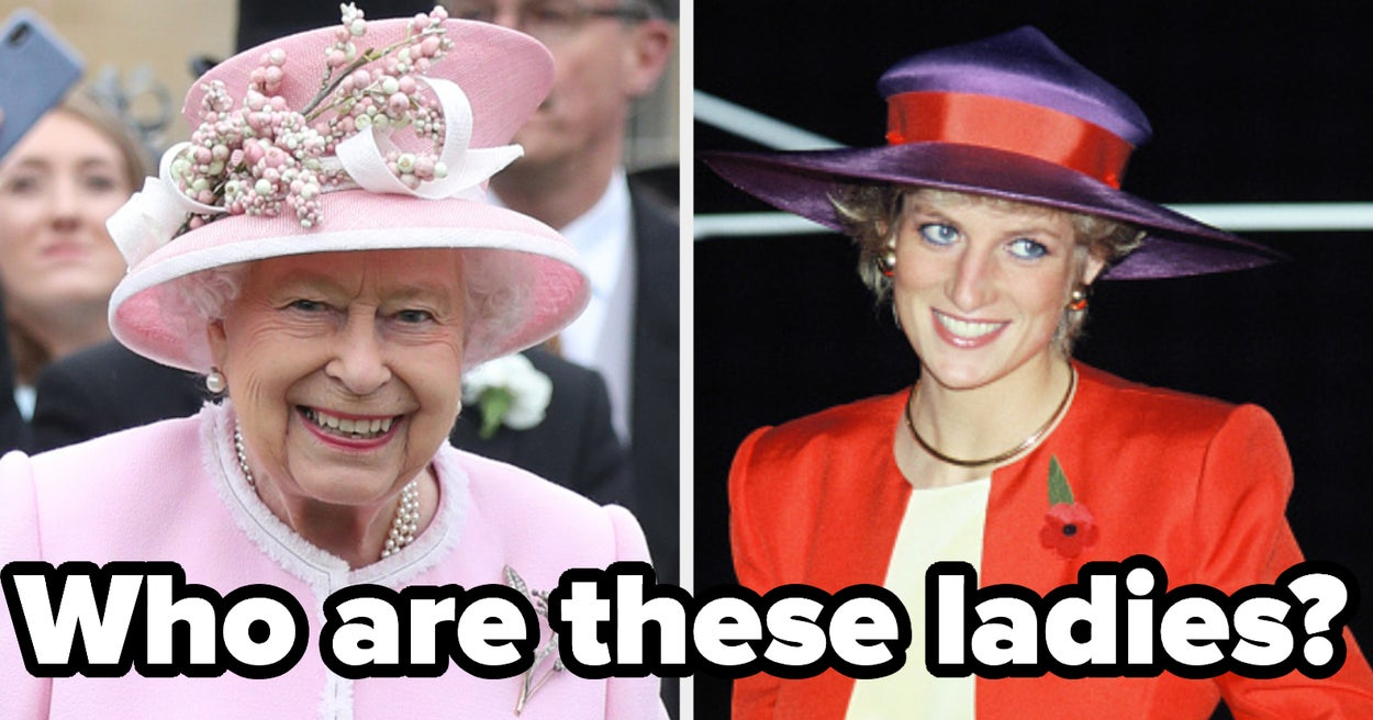 Here Are Pictures Of A Few Of The British Royals, Now Please Tell Me Their Names