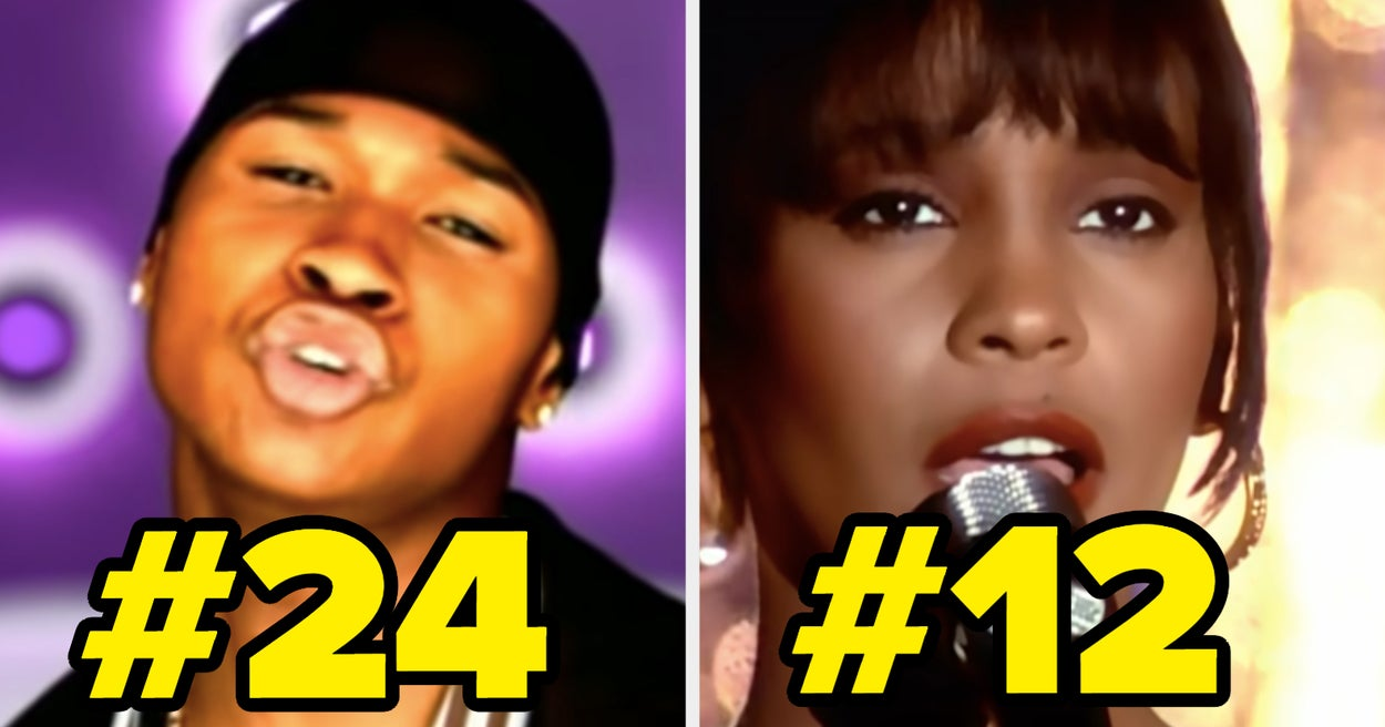 These Were The Top 30 Songs Of The '90s — How Many Of Them Have You Actually Heard?