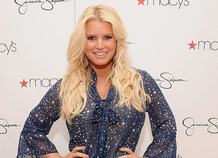 Jessica Simpson visits Macy's South Coast Plaza