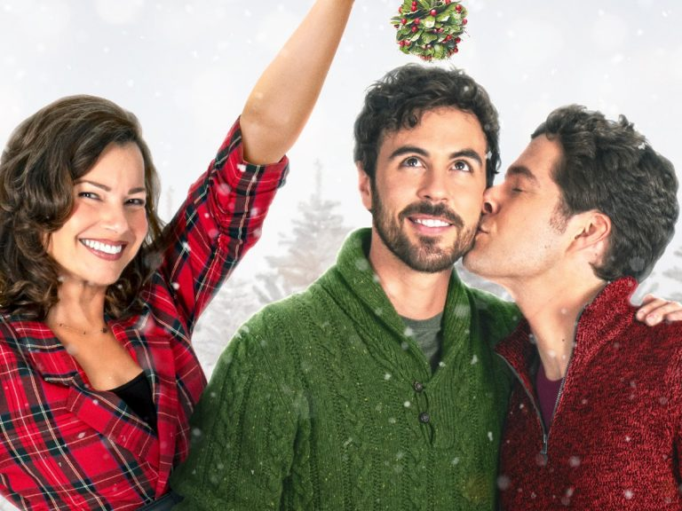 Lifetime's First LGBTQ Christmas Movie Is Coming — The Christmas Setup Stars Real-Life Husbands Blake Lee And Ben Lewis