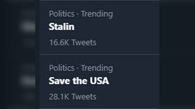 'Stalin' and 'Save the USA' trend on Twitter. Has America's political warfare taken a turn for the absurd?