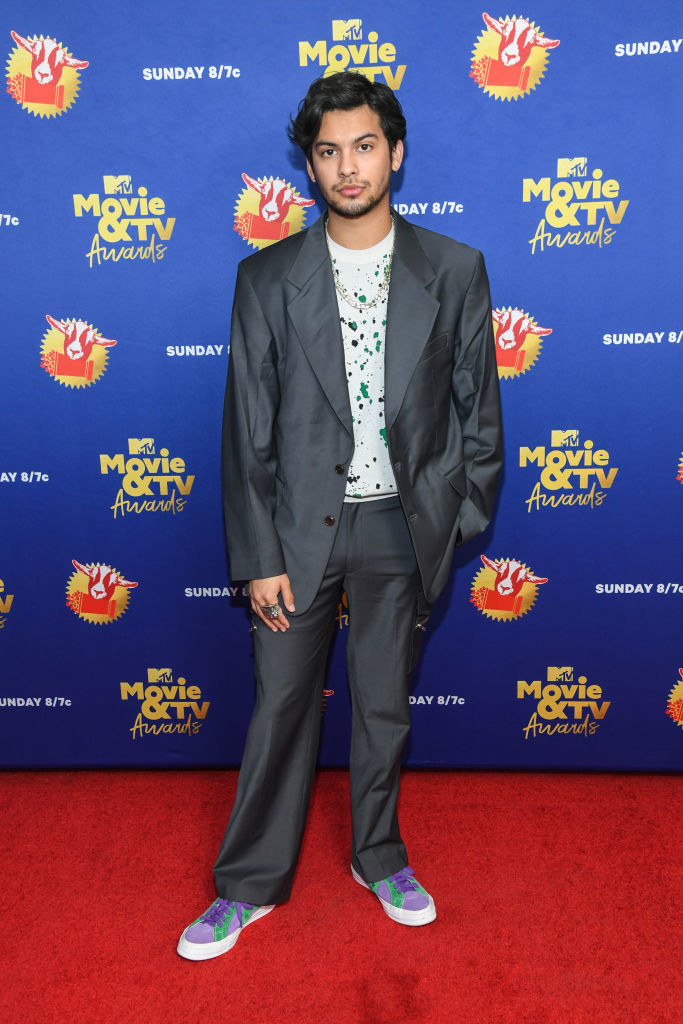 Xolo Mariduena from Cobra Kai attends the 2020 MTV Movie & TV Awards