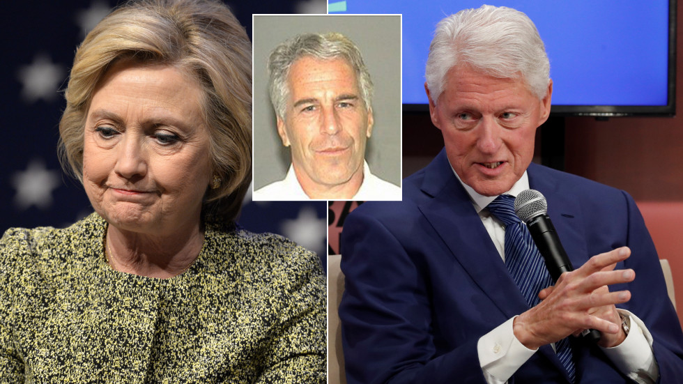 Sickly Bill Clinton reportedly 'petrified' Hillary will seek divorce over claims he visited Epstein's 'pedophile island'