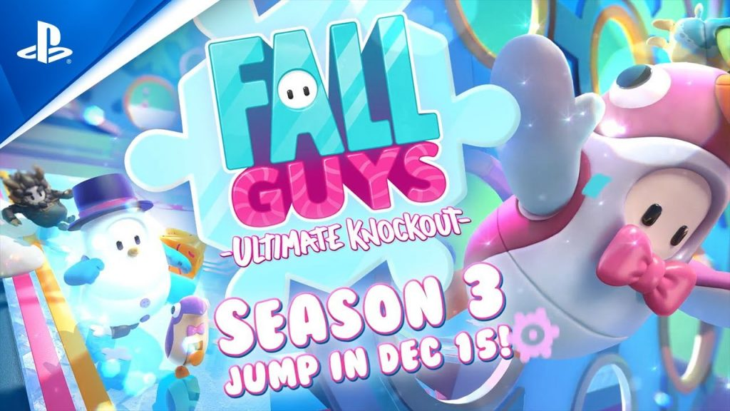 Fall Guys Season 3 drops Crown Ranks and Golden Costumes to reward the most dedicated beans