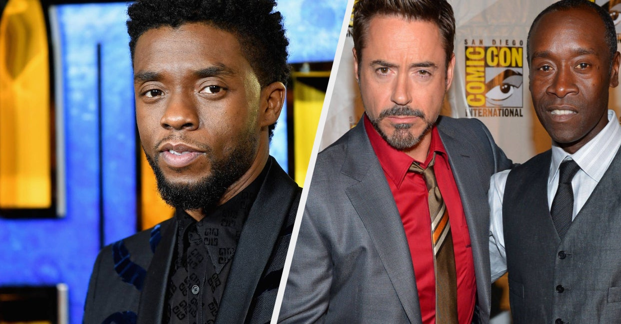 Robert Downey Jr. And Don Cheadle Honored Chadwick Boseman With An Incredible Speech