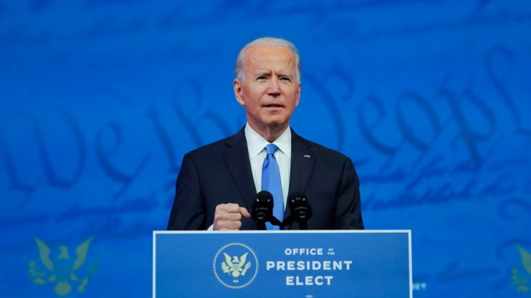 Biden calls election fraud claims 'baseless' in 1st speech after Electoral College designates him as president-elect