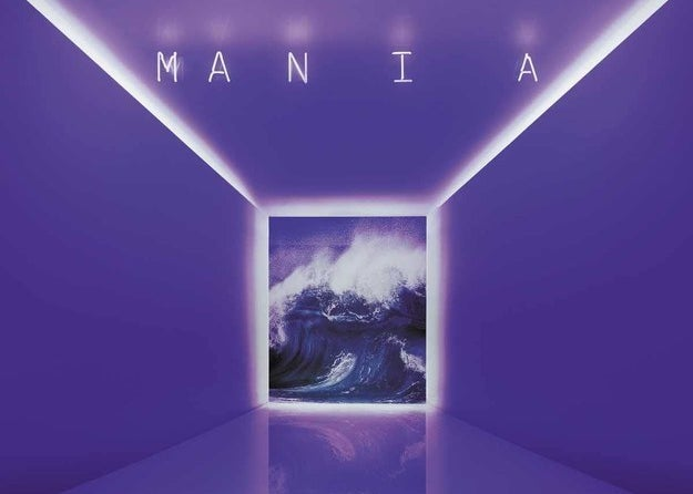 Fall Out Boy's Mania record cover
