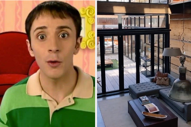 """Steve From """"Blue's Clues"""" Is Selling His House For Millions Of Dollars"""