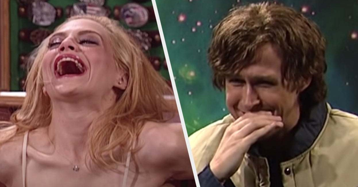 """16 Times Celebrity Hosts Broke Character On """"SNL"""" And Made It 1,000% Funnier"""
