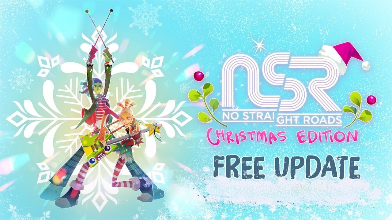 No Straight Roads gets festive with free Christmas Edition update