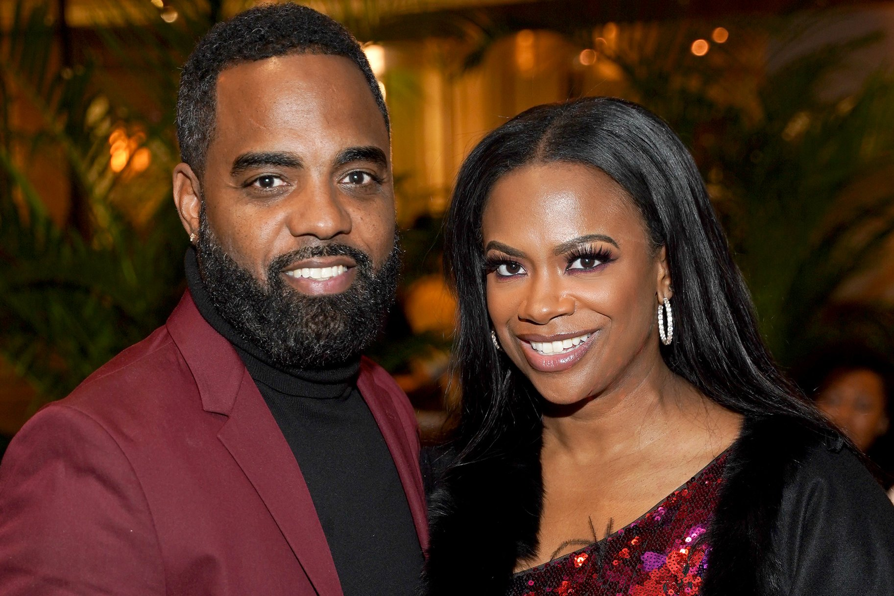 Todd Tucker Calls Fans And Followers To Vote – See Him And Kandi Burruss In This Photo