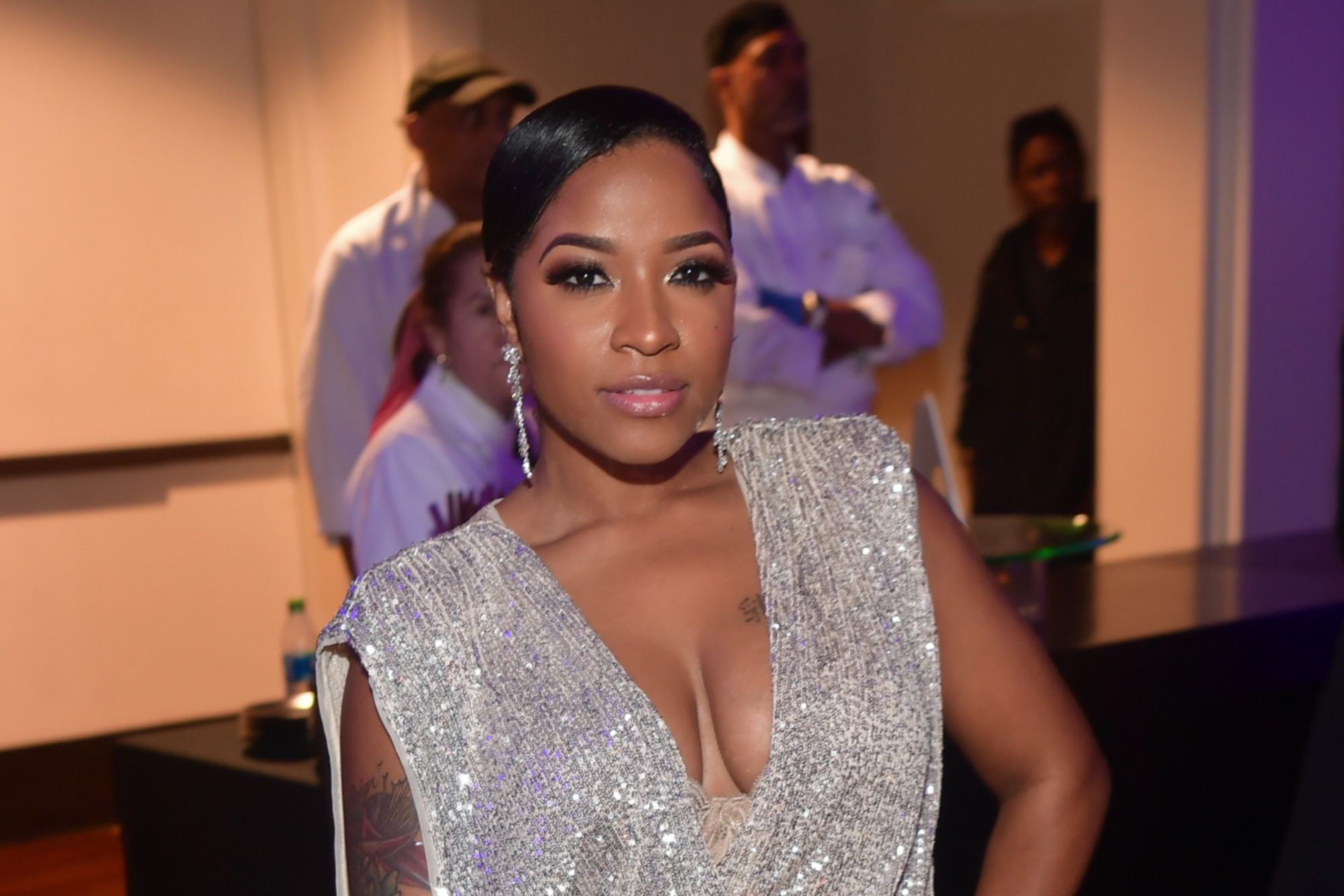 Toya Johnson Shares A Video Featuring Reign Rushing Dancing And Makes Fans' Day